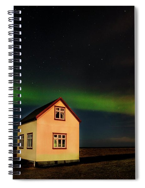 Northern Lights Of Iceland 2 Spiral Notebook