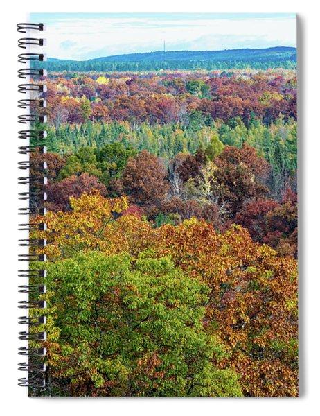 Northern Michigan Fall Spiral Notebook