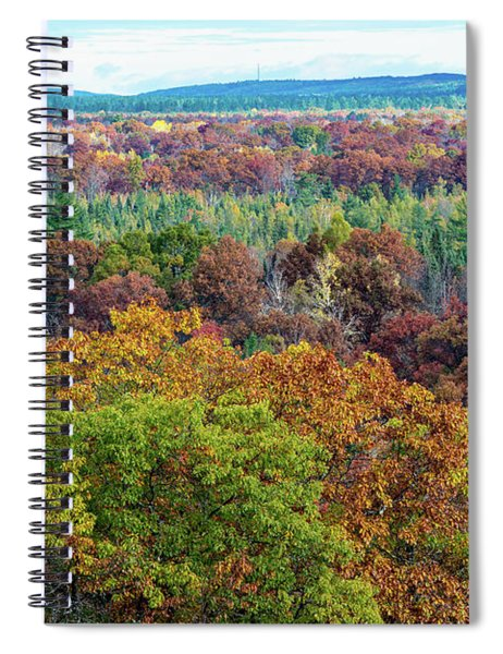 Northern Michigan Fall Spiral Notebook