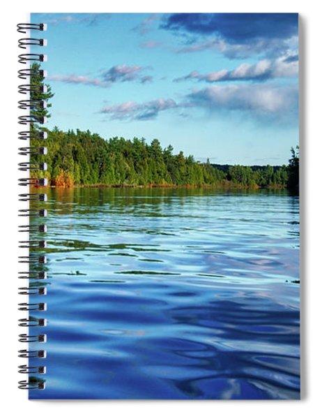 Northern Waters Spiral Notebook