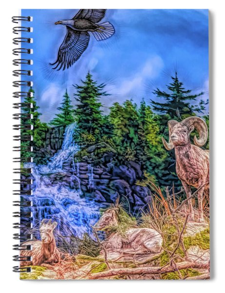 Northern Wilderness Spiral Notebook