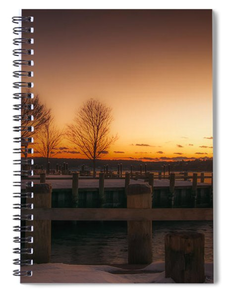 Northport Sunset Spiral Notebook