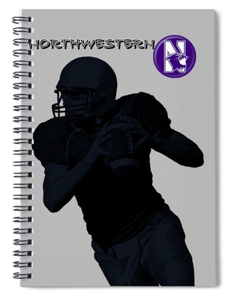 Northwestern Football Spiral Notebook