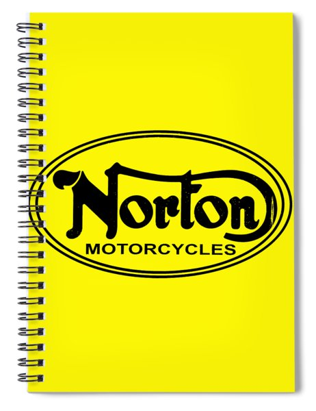 Norton Motorcycles Spiral Notebook