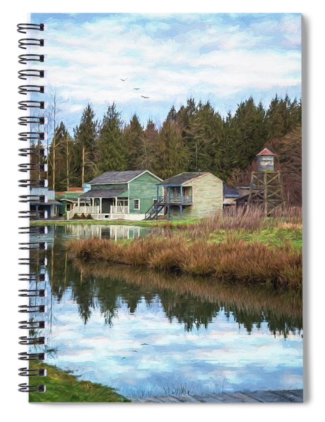 Nostalgia - Hope Valley Art Spiral Notebook
