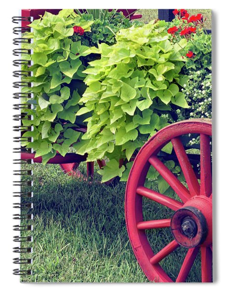 Nostalgia Pretty Spiral Notebook
