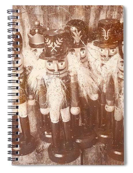 Nostalgic Childhood Mementos Spiral Notebook