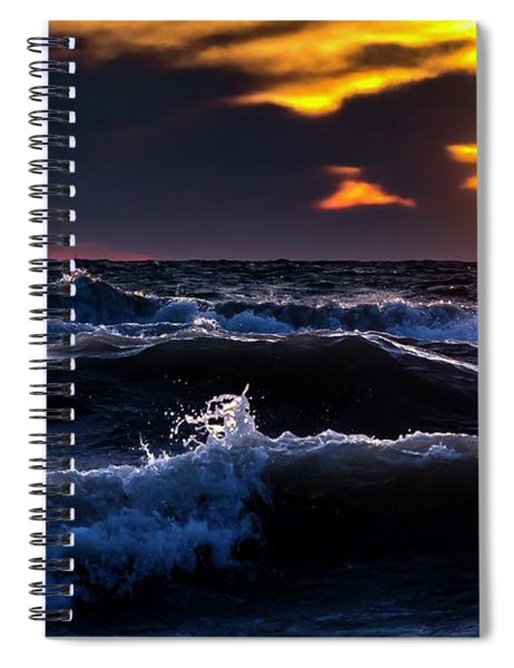 Not A Storm Spiral Notebook