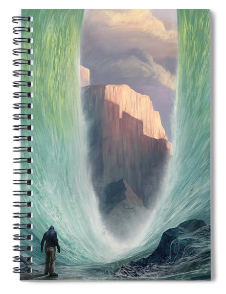 Not By Sight Spiral Notebook