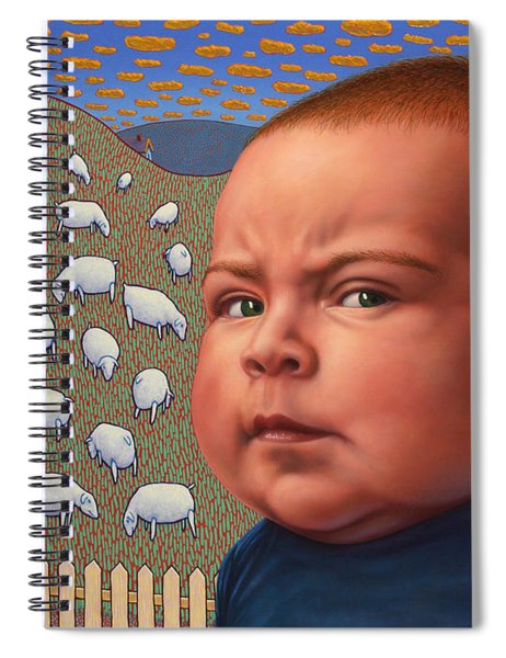 Not Crying Wolf Spiral Notebook