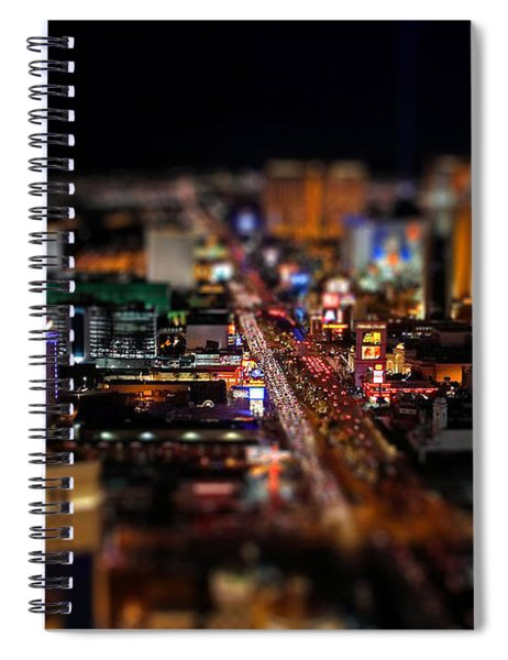 Not Everything Stays In Vegas - Tiltshift Spiral Notebook