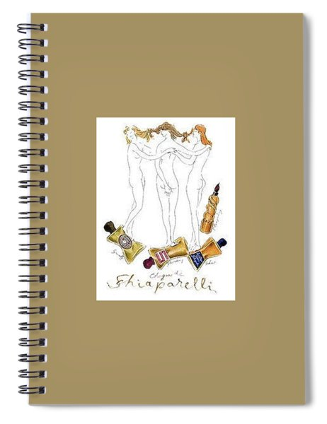 Not Shocked Spiral Notebook by ReInVintaged