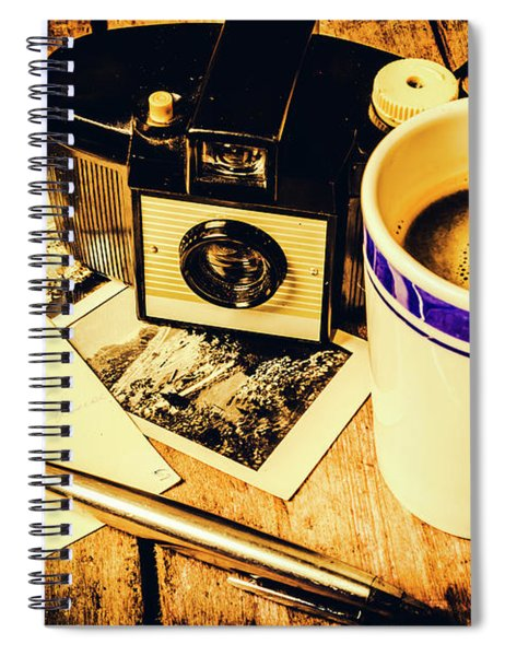 Notes Of Past Recollection Spiral Notebook