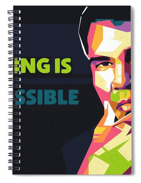Nothing Is Impossible Spiral Notebook