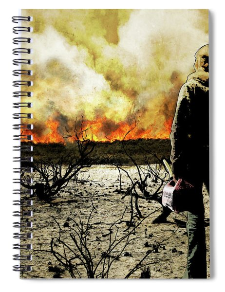 Nothing Left To Burn Spiral Notebook