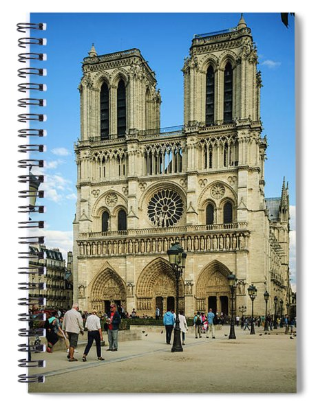 Notre Dame Cathedral Spiral Notebook