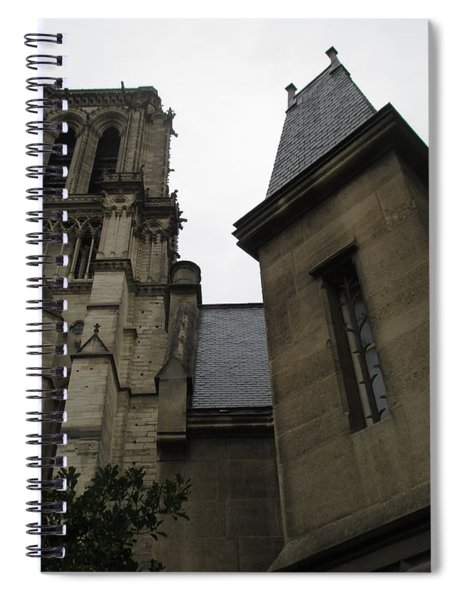 Notre Dame Paris Southwest Spiral Notebook