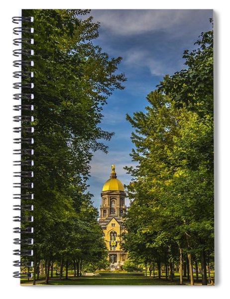 Notre Dame University 2 Spiral Notebook