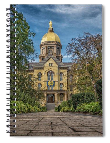 Notre Dame University Q1 Spiral Notebook