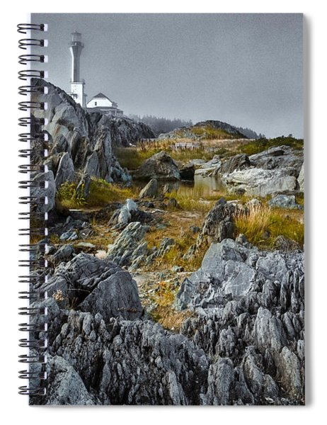 Spiral Notebook featuring the photograph Nova Scotia's Rocky Shore by Garvin Hunter