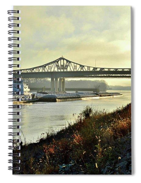 November Barge Spiral Notebook