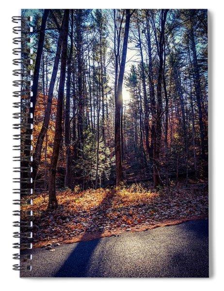November Light Spiral Notebook