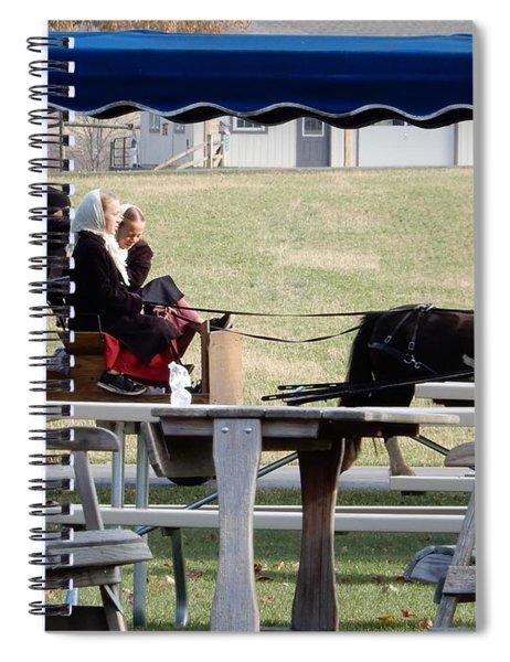 November Pony Cart Fun Spiral Notebook