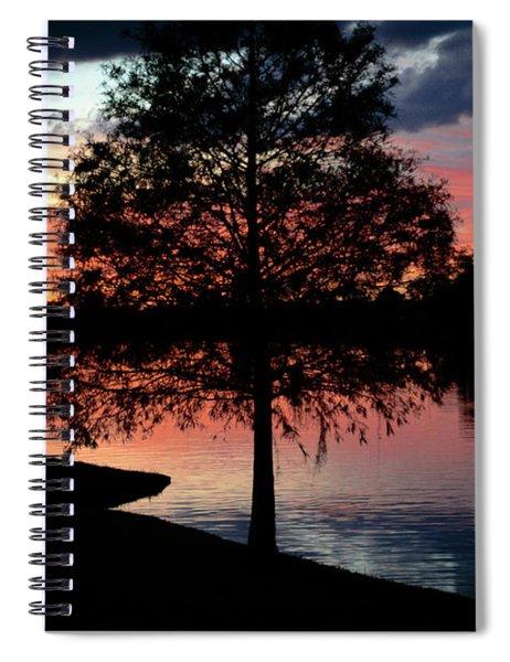 November Sunset Spiral Notebook