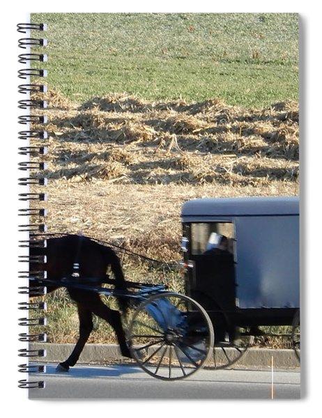 November Visiting Day Spiral Notebook