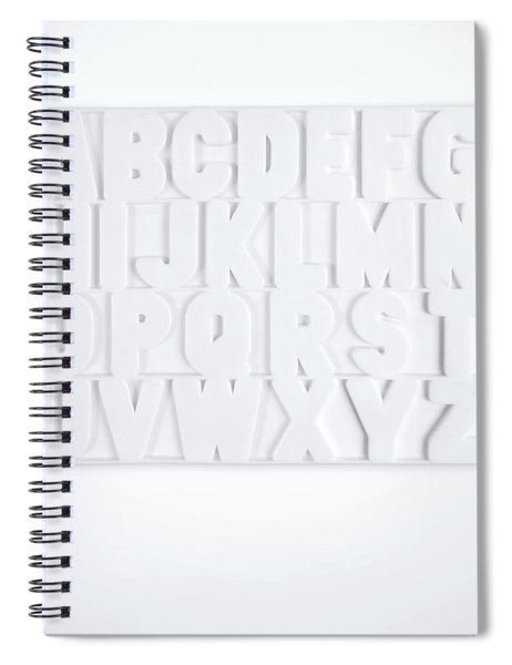 Now I Know My Abcs Spiral Notebook