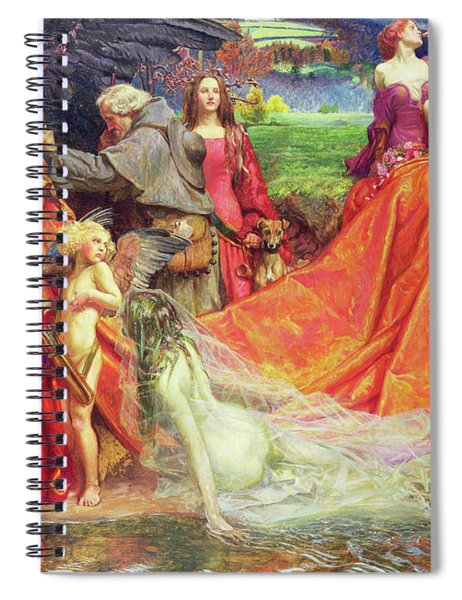 Now Is The Pilgrim Year Fair Autumn's Charge Spiral Notebook