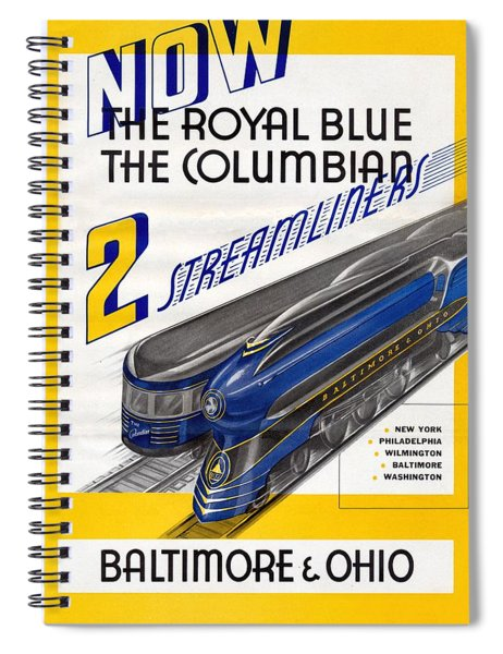 Now The Royal Blue The Columbian Spiral Notebook