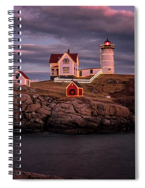 Nubble Light II Spiral Notebook