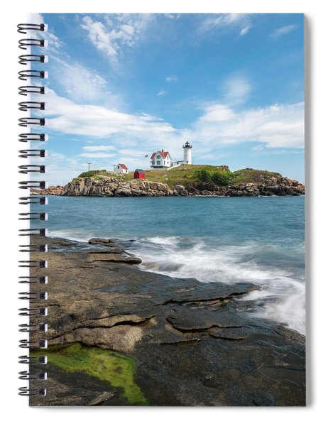 Nubble Light IIi Spiral Notebook