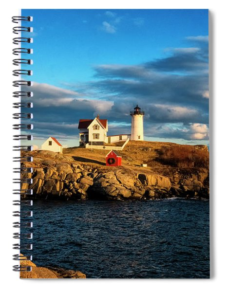 Nubble Light IIi Spiral Notebook