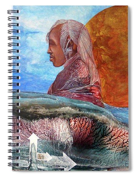 Nubian Dream  Spiral Notebook