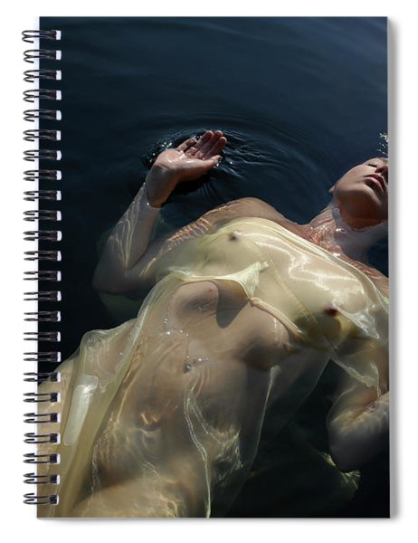 Queen Of The Lake Spiral Notebook