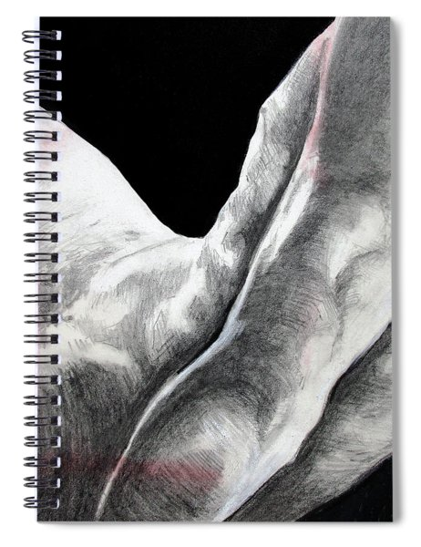 Nude Male Composition  Spiral Notebook