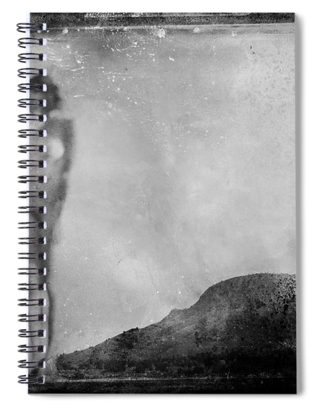 Nude On The Fence, Galisteo Spiral Notebook