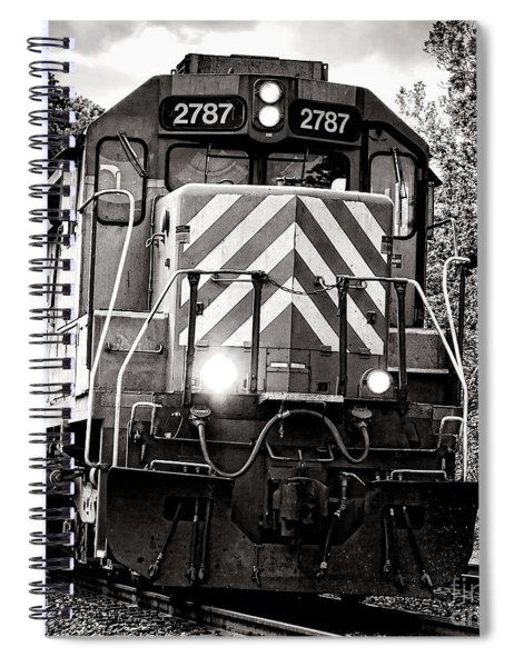 Number 2787 Spiral Notebook