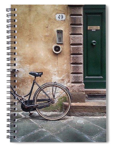 Number 49 Spiral Notebook