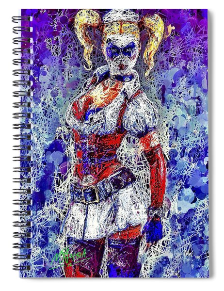 Nurse Harley Quinn Spiral Notebook