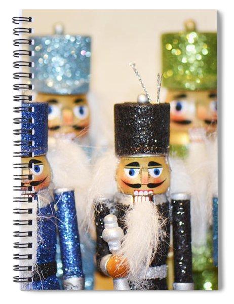 Nutcracker March Spiral Notebook