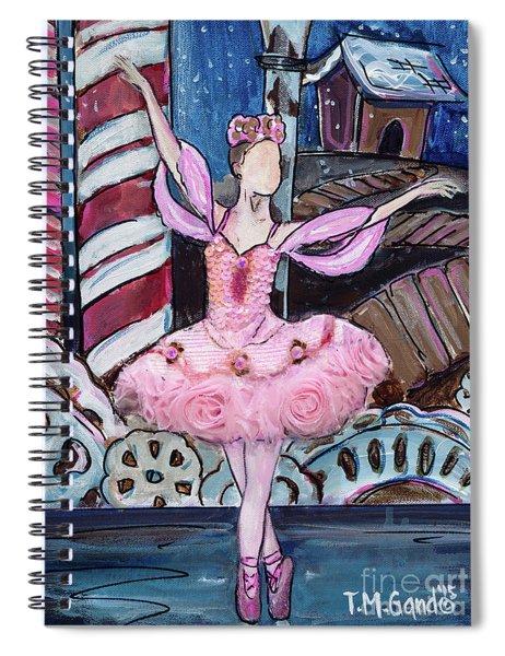 Nutcracker Sugar Plum Fairy Spiral Notebook