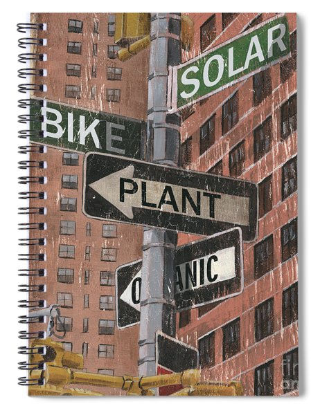 Nyc Broadway 2 Spiral Notebook