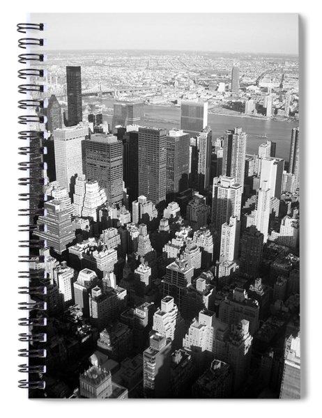 Nyc Bw Spiral Notebook