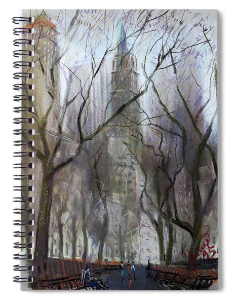 Nyc Central Park 1995 Spiral Notebook