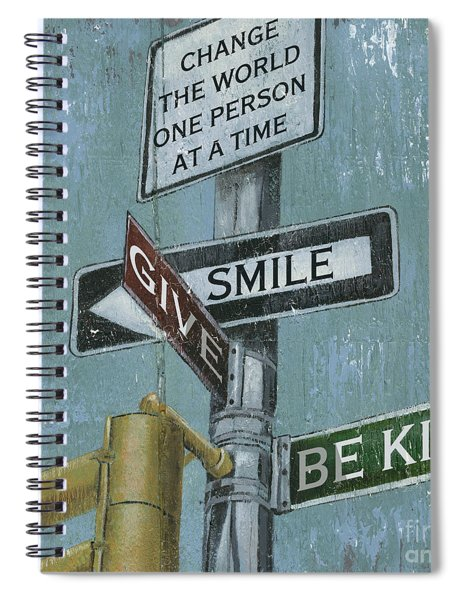 Nyc Inspiration 1 Spiral Notebook