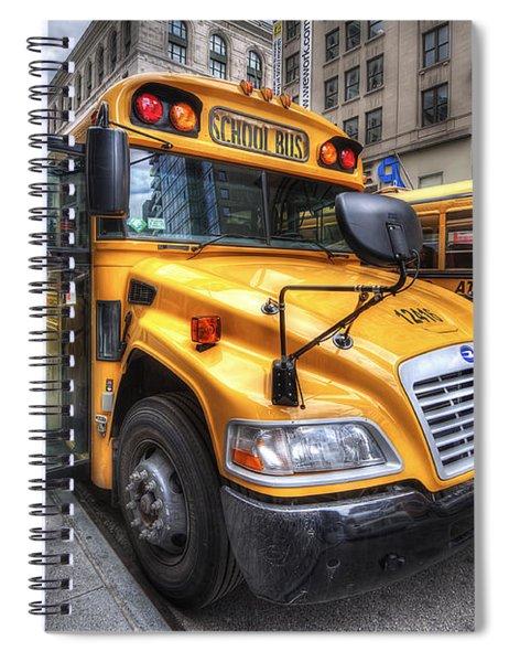 Nyc School Bus Spiral Notebook