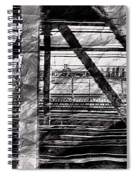 Nyc Train Bridge Tracts Spiral Notebook